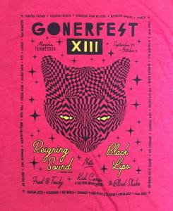 Gonerfest 13 T-Shirt - Red - Size M FREE US SHIPPING