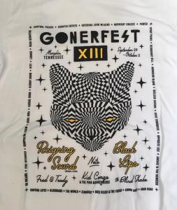 Gonerfest 13 T-Shirt - White - Size XL FREE US SHIPPING
