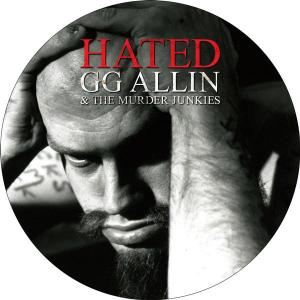 GG Allin - Hated picture disc lp (MVD)