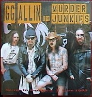 GG Allin - Terror In America lp (Alive)