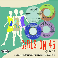 Girls On 45 Volume 2 cd (Teensville)