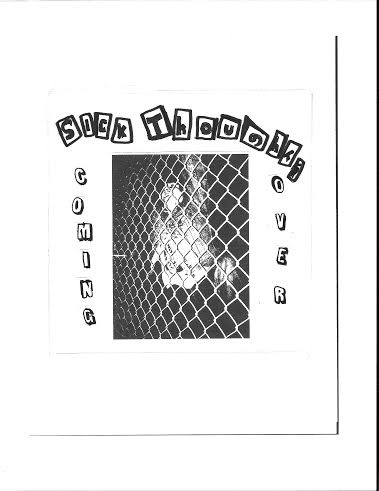 "Sick Thoughts - Coming Over 7"" (Going Underground Records)"