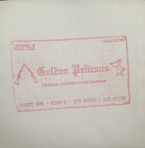 "Golden Pelicans - The Earls 7"" (Total Punk)"
