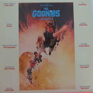 The Goonies - Original Motion Picture Sndtrck lp (Epic/Legacy)