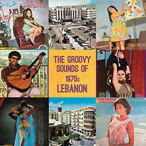 Groovy Sounds of 1970s Lebanon lp (Cedarphon)
