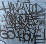 Hank Wood and the Hammerheads - Go Home lp (Toxic State Records)