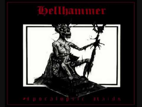 "Hellhammer - Apocalyptic Raids 12"" ep (Black on Black)"