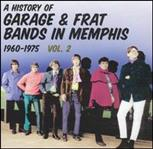 A History Of Garage & Frat Bands In Memphis Vol 2 cd