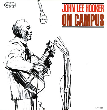 John Lee Hooker - On Campus lp (Vee Jay Records)