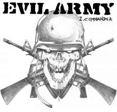 "Evil Army - I, Commander 7"" (Hell's Headbangers)"