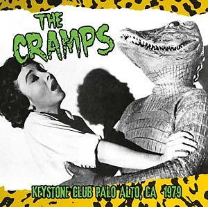 The Cramps - Keystone Club Palo Alto 1979 lp (Interference)