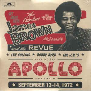 James Brown - Live At the Apollo Volume IV dbl lp (Get On Down)