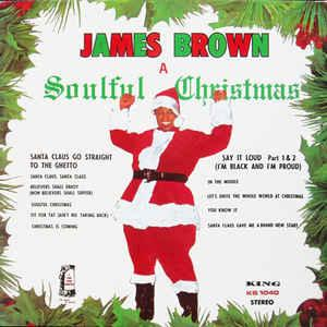 James Brown - A Soulful Christmas lp (Polydor)
