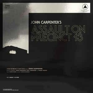 "John Carpenter - Assault On Precinct 13 / The Fog 12"" (SBR)"