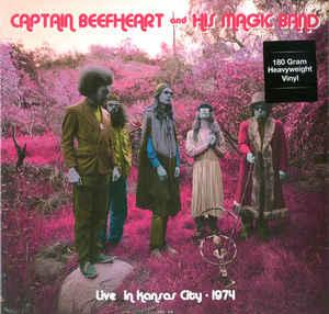 Captain Beefheart & His Magic Band - Live in Kansas City 1974 lp