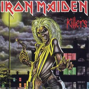 Iron Maiden - Killers lp (BMG)