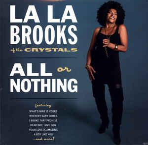 La La Brooks - All or Nothing lp (Norton)