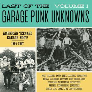 Last of the Garage Punk Unknowns - Vol 1 lp (Crypt)