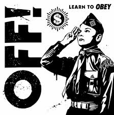 "Off! - Learn To Obey 7"" (Vice Records)"