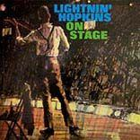 Hopkins, Lightnin' - On Stage lp (DOL)