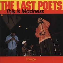 Last Poets - This Is Madness lp (Celluloid/Douglas)