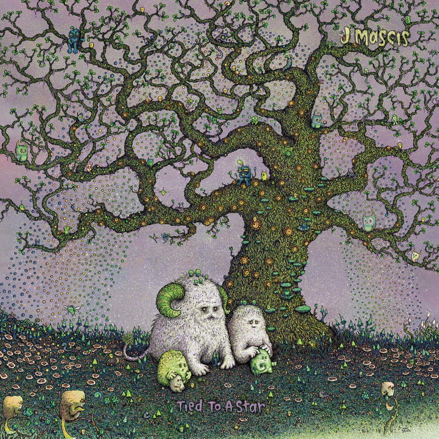 J. Mascis- Tied To A Star lp (Sub Pop Records)