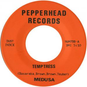 "Medusa - Strangulation / Temptress 7"" (Numero) WITH PATCH"