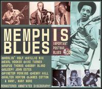Memphis Blues Important Postwar Blues boxset cd (JSP)
