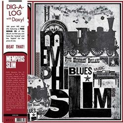 Memphis Slim - I Find the Blues Everywhere lp (Doxy)