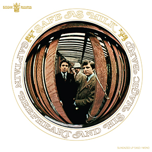 Captain Beefheart - Safe As Milk MONO lp (Sundazed)