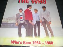 The Who - Who's Rare 1964-1968 lp (No Label)