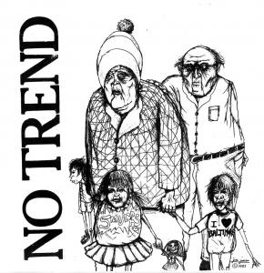 "No Trend - Teen Love 7"" (Digitial Regress)"