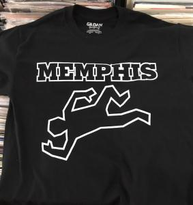 Memphis Outline T-Shirt - Size L - POSTAGE PAID