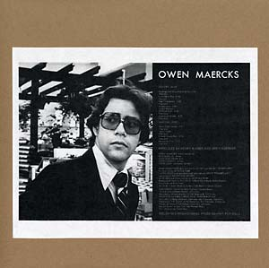Maercks, Owen - Teenage Sex Therapist lp (Feeding Tube)