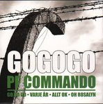 "P.F. Commando - Go Go Go 7"" (Ken Rock SWEDEN)"