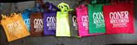 Goner Tote Bags - Postage Paid in the US! Various Colors!