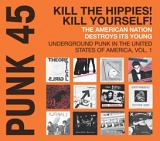 Punk 45 Kill The Hippies Kill Yourself dbl lp (Soul Jazz Records