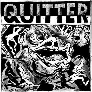 "Quitter - s/t 7"" (Blow Blood)"