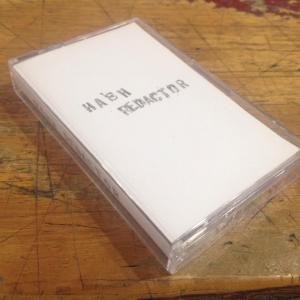 Hash Redactor - demo cassette (Self Released)