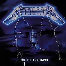 Metallica - Ride The Lightning lp (Blackened)