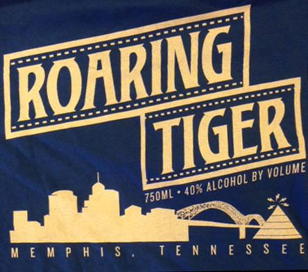 Roaring Tiger Vodka T-Shirt small