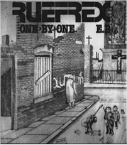 "Ruefrex - One By One 7"" (Paramecium Records SPAIN)"