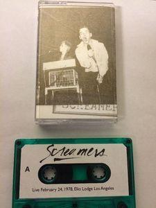 Screamers - Save The Masque 1978 cassette (No Label)