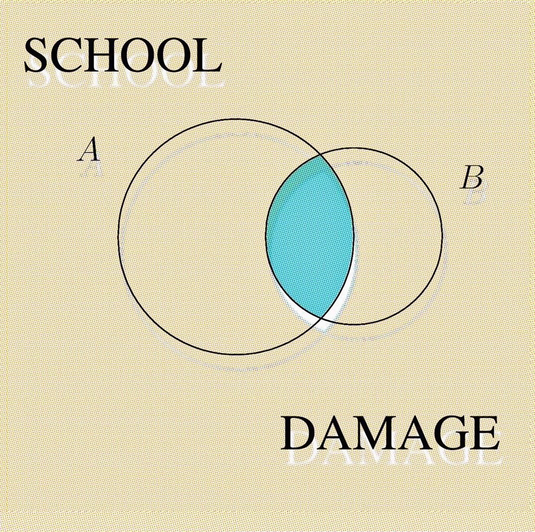 "Schood Damage - Break Up 7"" (Detonic Recordings)"