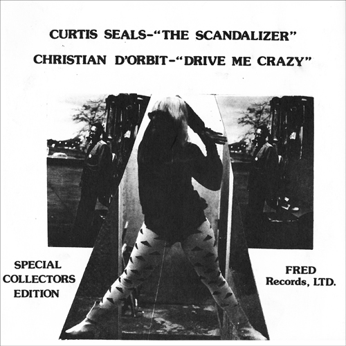 "Curtis Seals - The Scandalizer 7"" (Windian Records)"