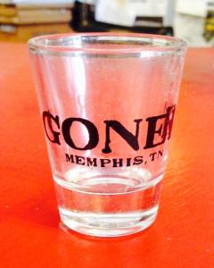 Goner Shot Glass - Domestic Shipping Included!
