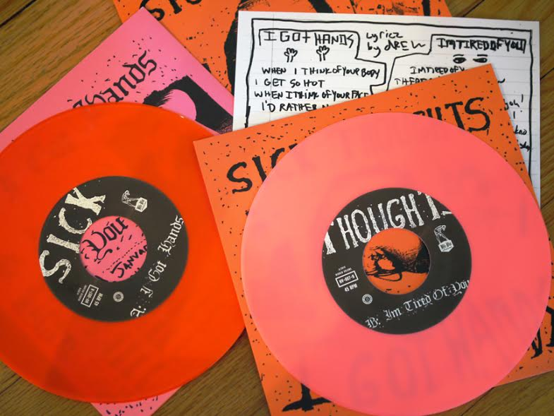 "Sick Thoughts - I Got Hands 7"" (Hidden Volume Records)"