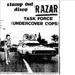 "Razar - Stamp Out Disco / Task Force 7"" (Sing Sing)"