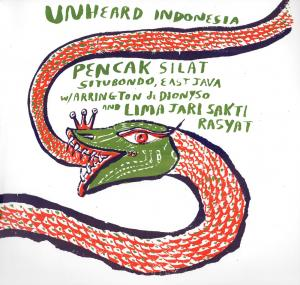 Unheard Indonesia - Pencak Silatubondo lp (Psychic Sounds)