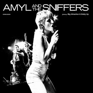 Amyl and the Sniffers - Big Attraction/Giddy Up cd (Homeless)